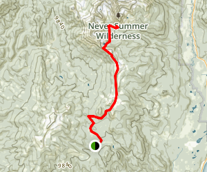 Wolverine Trail Map