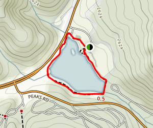 Abbott Lake Trail Map