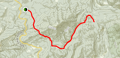 Willow Pass Trail Map