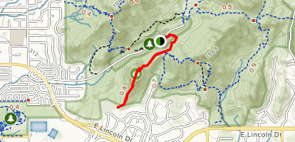 Mohave Trail (#200) Map