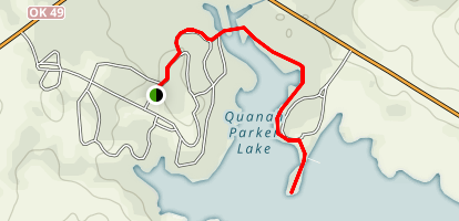 Quanah Parker Trail Map