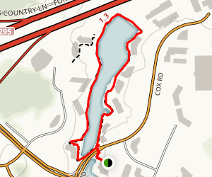 Lake Rooty Trail Map
