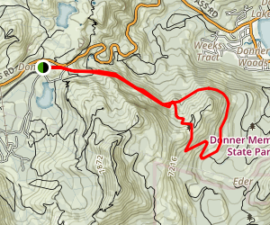 Historic Donner Pass Trail Map