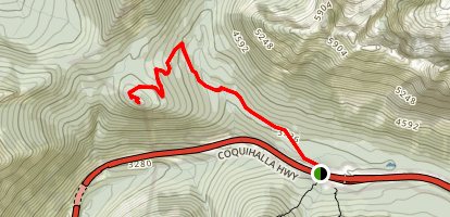 Ottomite Mountain Trail Map