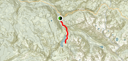 Relief Reservoir Trail Map