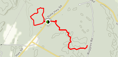 Old Gick Farm and Fox Trails Map