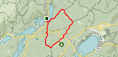 Rockland County: Rockhouse Mountain Map
