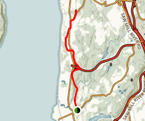 Old Croton Aqueduct Trail: Scarborough to Sleepy Hollow Map