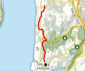 Old Croton Aqueduct Trail: Sleepy Hollow Map