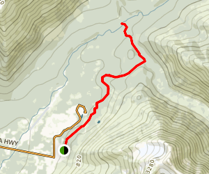 Winner Creek Trail Map