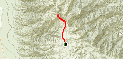 White Mountain Peak Trail Map