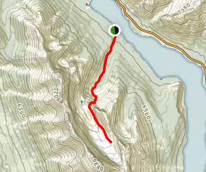 Old Goat Glacier Trail Map