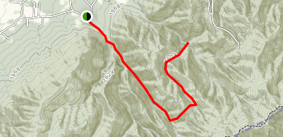 Phillips Hollow Trail Map