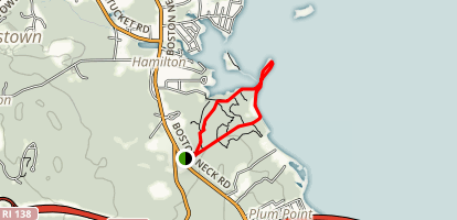Rome Point Trail Map