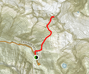 Forbidden Peak Trail Map