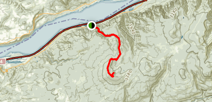 Larch Mountain Trail (CLOSED) Map
