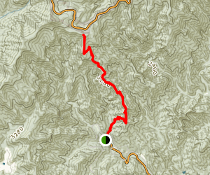 Heartbreak Ridge Trail Map