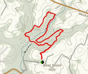 Gillis Falls Trail Map