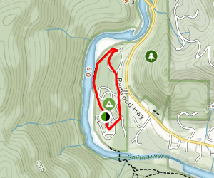 Jedediah Smith Campground Map