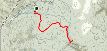 Benton Falls Trail Map