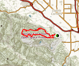 PG&E and Coyote Trails Map