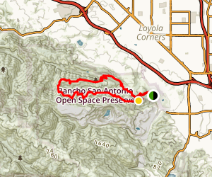 PG&E, Upper High Meadow, Wildcat, Roque Valley and Coyote Loop Map