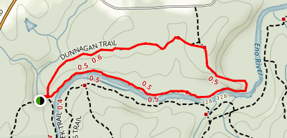 Dunnagan Trail Map