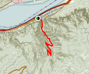 Oneonta Trail Map