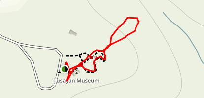Tusayan Ruin Walk Trail Map