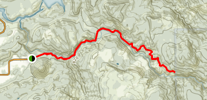 Lower Siouxon Creek Trail Map