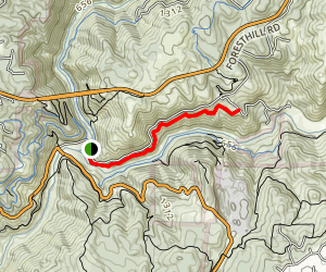 Confluence Trail Map