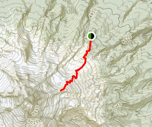 Cooper Spur Trail Map