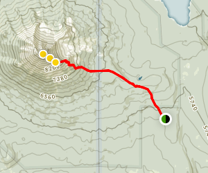 Mount McLoughlin Trail Map