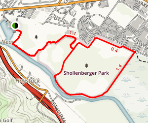 Shollenberger Park Loop Map