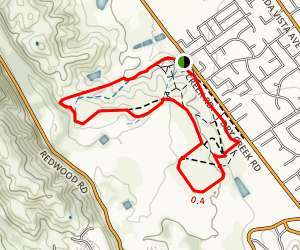 Alston Park Loop Trail Map