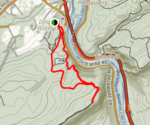 Mount Minsi via Appalachian Trail Map