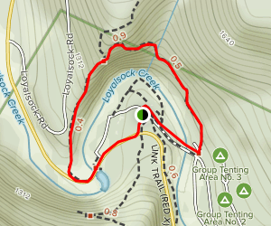High Rock Trail Map