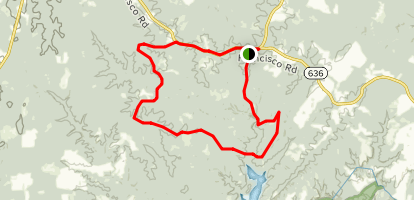 Carter Taylor Trail Map