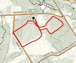 Old Quarry Trail Map