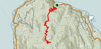 Gold Hill North Trail Map