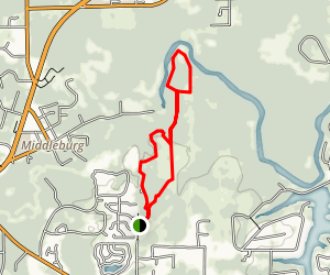 Black Creek Ravines Hike Map