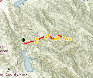 Rose Peak From Sunol Map