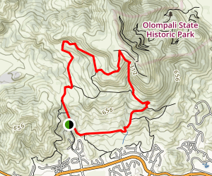 Mount Burdell Trail Map