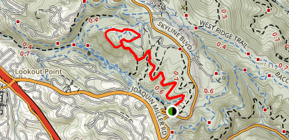 Sequoia Bayview Trail Map