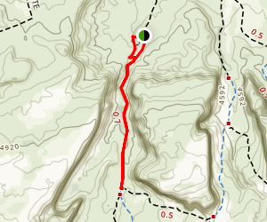 Mill Canyon Dinosaur Trail Map