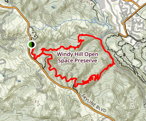 Hamms Gulch, Eagle Trail, and Lost Trail Loop Map