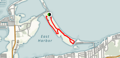 Wetlands and South Beach Trail Map