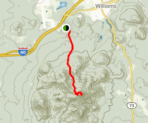 Bill Williams Mountain Trail Map