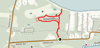 North Pond State Nature Preserve Boardwalk Trail Map