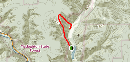 Panther Run Trail Map
